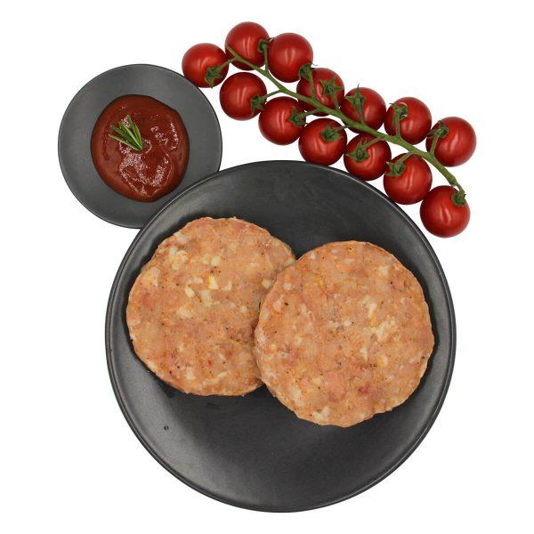 BBQ kipburger kip burger kipdijfilet